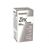 HealthAid Zinc Citrate 100mg Tablets 100