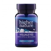 Higher Nature Visual Eyes Vegetable Capsules 90