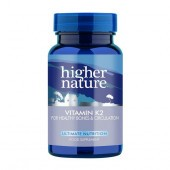 Higher Nature Vitamin K2 Vegetable Capsules 60