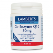 Lamberts Co-Enzyme Q10 30mg Capsules 60