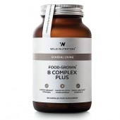 Wild Nutrition Food-Grown B Complex Plus Vegicaps 60