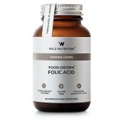 Wild Nutrition Food-Grown Folic Acid Vegicaps 30