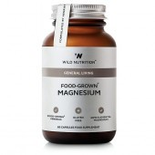 Wild Nutrition Food-Grown Magnesium Vegicaps 60