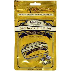 Grether's Blueberry Pastilles Sugar Free Pouch 100g