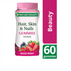Nature's Bounty Hair, Skin & Nails Gummies 60