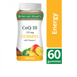 Nature's Bounty CoQ-10 125mg with Vitamin C Gummies 60 all