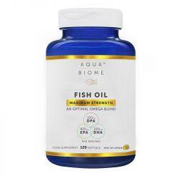 Aqua Biome Fish Oil Maximum Strength Softgels 120