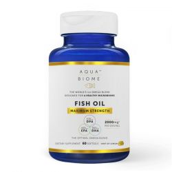 Aqua Biome Fish Oil Maximum Strength Softgels 60