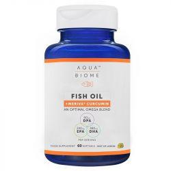 Aqua Biome Fish Oil + Meriva Curcumin Softgels 60