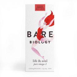 Bare Biology Life & Soul Pure Omega-3 Fish Oil Box