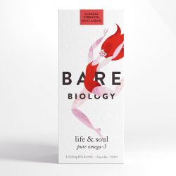 Bare Biology Life & Soul Pure Omega-3 Fish Oil Box
