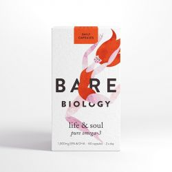 Bare Biology Life & Soul Pure Omega 3 Fish Oil Daily Caps 60