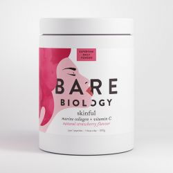 Bare Biology Skinful Marine Collagen Plus Vitamin C Powder 300g