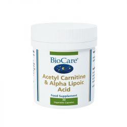 BioCare Acetyl Carnitine & Alpha Lipoic Acid Caps 30