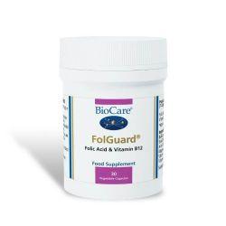 BioCare Folguard Vegicaps 30