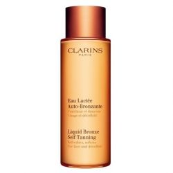 Clarins Liquid Bronze Self Tanning for Face and Décolleté 125ml