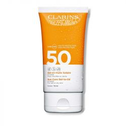 Clarins Sun Care Gel-To-Oil for Body SPF 50+ 150ml