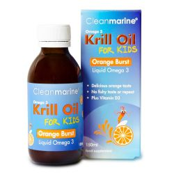 Cleanmarine for Kids Orange Burst Liquid Omega-3 150ml
