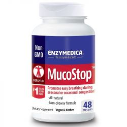 Enzymedica MucoStop Capsules 48