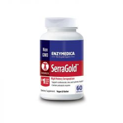Enzymedica SerraGold Capsules 60