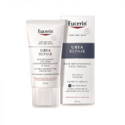 Eucerin Replenishing Face Cream Night 5% Urea 50ml