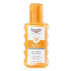 Eucerin Sensitive Protect Sun Spray Transparent SPF50 200ml