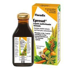 Floradix Epresat Liquid Multivitamin Formula 250ml