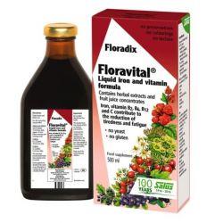 Floradix Floravital Yeast Free Iron Formula 500ml