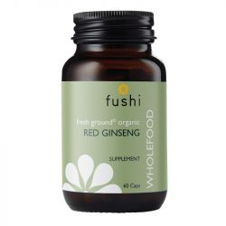 Fushi Wellbeing Organic Red Ginseng Root 333mg Veg Caps 60