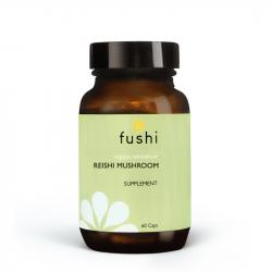 Fushi Wellbeing Organic Reishi Mushroom 333mg Veg Caps 60