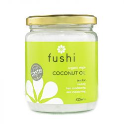 Fushi Wellbeing Organic Virgin Cold Pressed Coconut Oil 420g