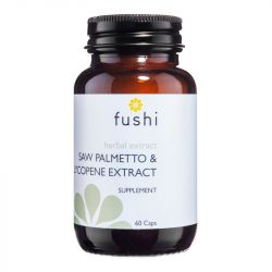 Fushi Wellbeing Saw Palmetto & Lycocene Extracts Veg Caps 60