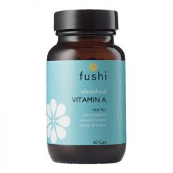 Fushi Wellbeing Whole Food Vitamin A Veg Caps 60