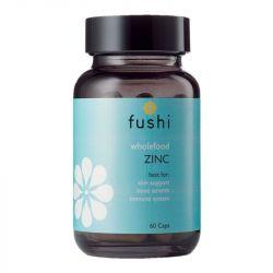 Fushi Wellbeing Whole Food Zinc Veg Caps 60