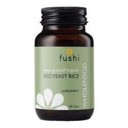Fushi Wellbeing Wild Crafted Red Yeast Rice 333mg Veg Caps 60