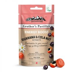 Grether's Energy Boost Guarana & Cola Nut Pastilles 45g