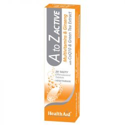 HealthAid A to Z Active Effervescent Tablets 20
