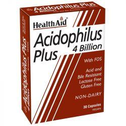 HealthAid Acidophilus Plus 4 Billion Vegicaps 30