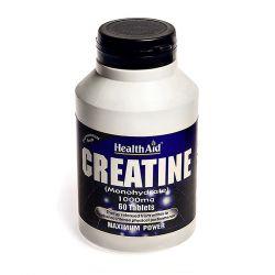 HealthAid Creatine Monohydrate 1000mg tablets 60