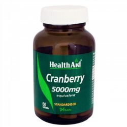 HealthAid Cranberry 5000mg tablets 60