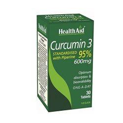 HealthAid Curcumin 3 Tablets 30