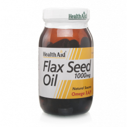 HealthAid Flaxseed Oil 1000mg Capsules 60