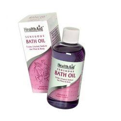 HealthAid Sensuous Bath Oil 150ml