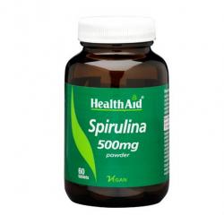 HealthAid Spirulina 500mg tablets 60