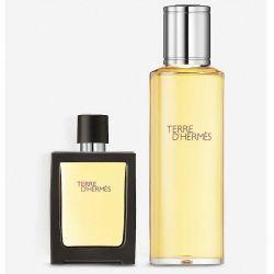 Hermes Terre d'Hermès Pure Perfume 30ml + 125ml Refill