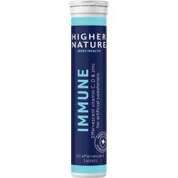 Higher Nature Immune Effervescent Tabs 20