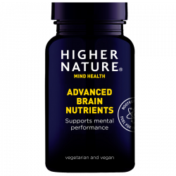 Higher Nature Advanced Brain Nutrients Vegetable Capsules 180
