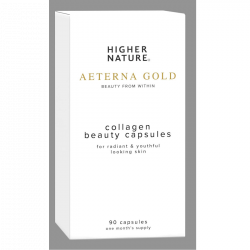 Higher Nature Aeterna Gold Collagen Beauty Caps 90