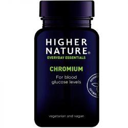 Higher Nature Chromium 200ug Vegetable Tablets 90