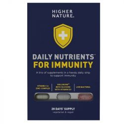 Higher Nature Daily Nutrients for Immunity Caps 28